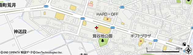 福島県郡山市安積町荒井(西原)周辺の地図