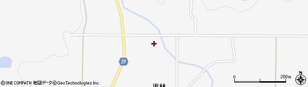 福島県郡山市三穂田町山口(山神前)周辺の地図