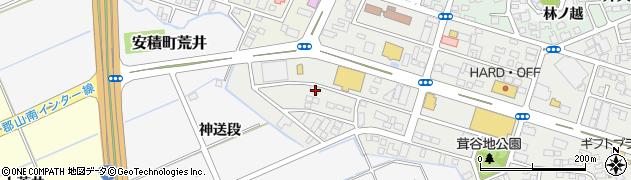 福島県郡山市安積町荒井(大池下)周辺の地図