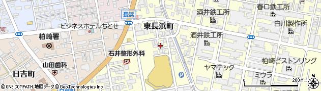 新潟県柏崎市東長浜町周辺の地図