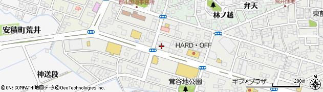 福島県郡山市安積町荒井(念仏段)周辺の地図