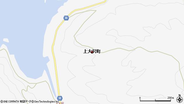 〒928-0055 石川県輪島市上大沢町の地図