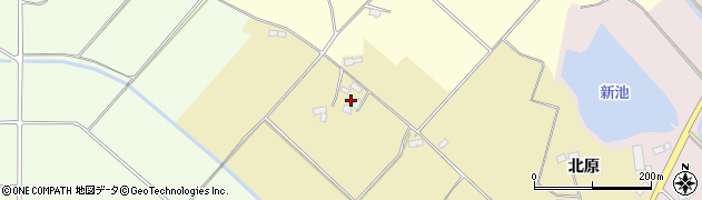 福島県郡山市三穂田町駒屋(東谷地ノ台)周辺の地図