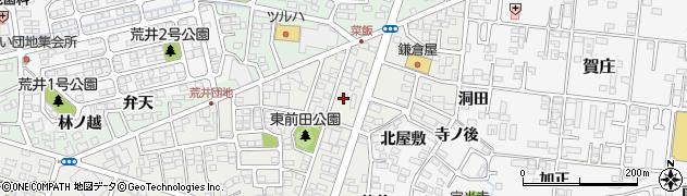 福島県郡山市安積町荒井(三入分)周辺の地図