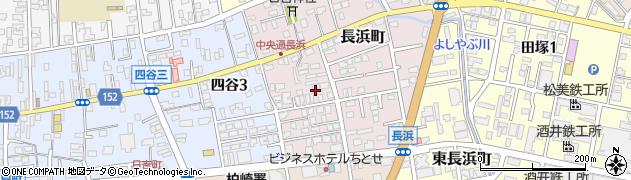 新潟県柏崎市長浜町周辺の地図