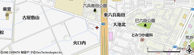福島県郡山市安積町荒井(下中野)周辺の地図