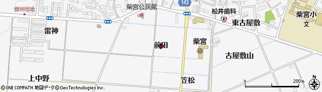 福島県郡山市安積町荒井(前田)周辺の地図