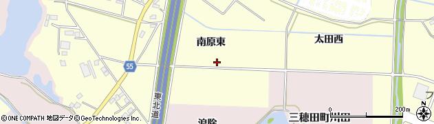 福島県郡山市大槻町(南原東)周辺の地図