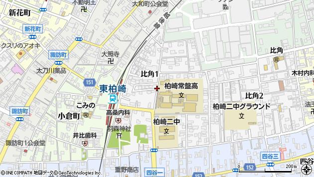 〒945-0047 新潟県柏崎市比角の地図
