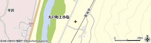 福島県会津若松市大戸町上小塩周辺の地図