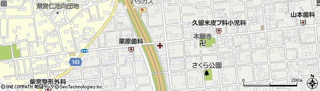 久留米学習塾周辺の地図