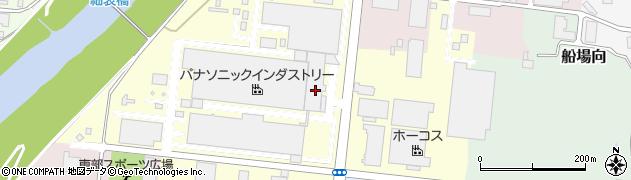 福島県郡山市石塚周辺の地図