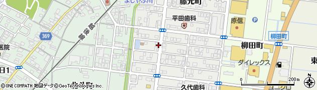 新潟県柏崎市藤元町周辺の地図