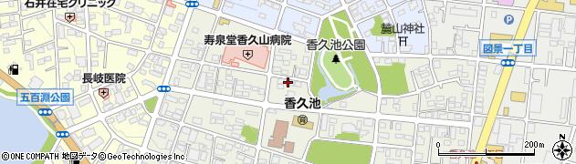 マリー美容室周辺の地図