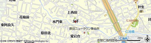 福島県郡山市大槻町(土手)周辺の地図