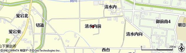 福島県郡山市大槻町(清水内前)周辺の地図