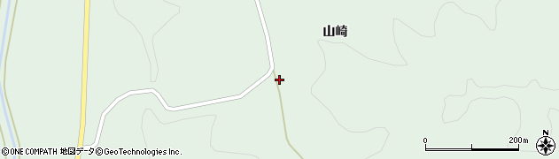 福島県郡山市湖南町福良(入山崎)周辺の地図