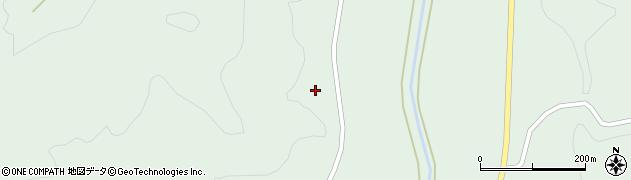 福島県郡山市湖南町福良(小栗生)周辺の地図