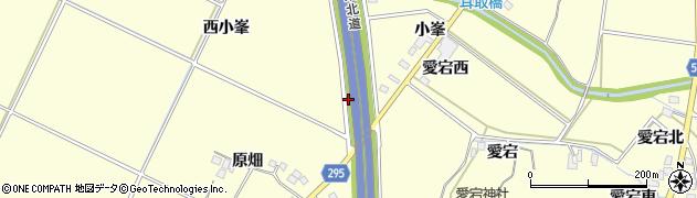 福島県郡山市大槻町(前小峯)周辺の地図