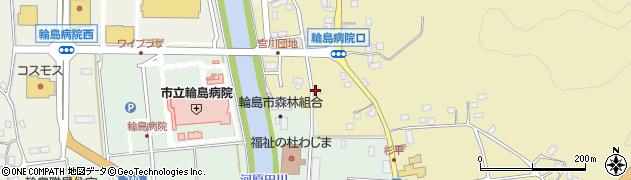 石川県輪島市杉平町(西ノ草)周辺の地図