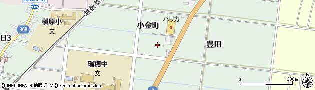 新潟県柏崎市小金町周辺の地図