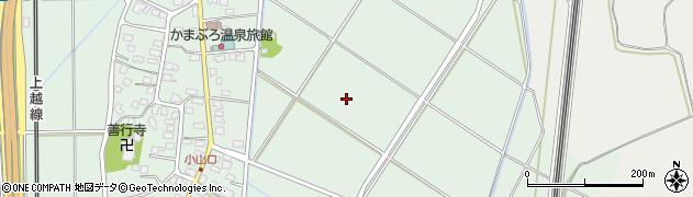 新潟県長岡市十日町周辺の地図