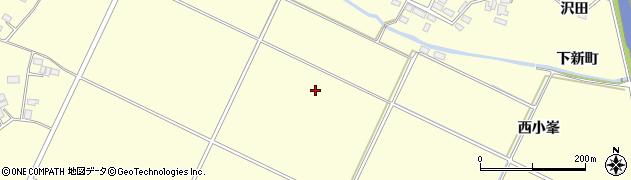 福島県郡山市大槻町(南新町)周辺の地図