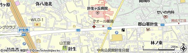 福島県郡山市大槻町(天正坦)周辺の地図