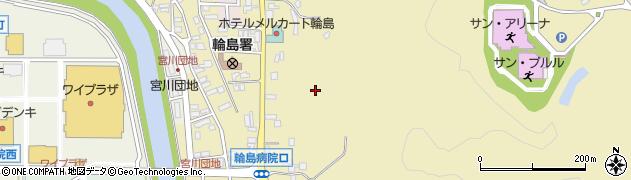石川県輪島市杉平町(下山)周辺の地図