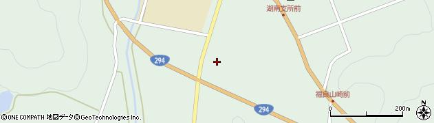 福島県郡山市湖南町福良(惣郷地)周辺の地図