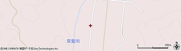 福島県郡山市湖南町赤津(金剛谷)周辺の地図