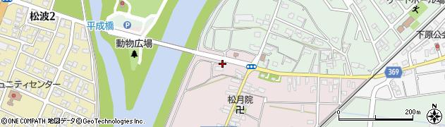 新潟県柏崎市槇原町周辺の地図