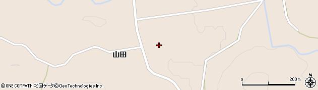 福島県郡山市逢瀬町多田野(山田山)周辺の地図