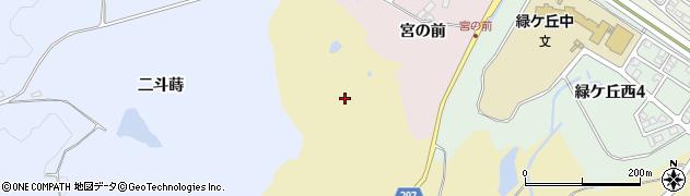 福島県郡山市大平町(四合内)周辺の地図