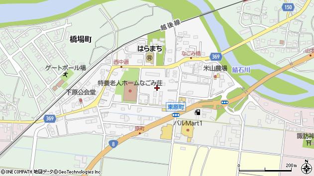 〒945-0023 新潟県柏崎市原町の地図