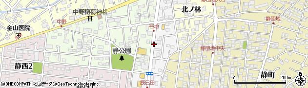 福島県郡山市大槻町(谷地)周辺の地図