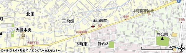福島県郡山市大槻町(仙海東)周辺の地図