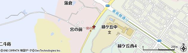 福島県郡山市蒲倉町(小南)周辺の地図