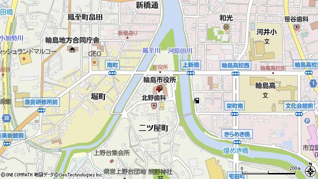 〒928-0000 石川県輪島市(以下に掲載がない場合)の地図