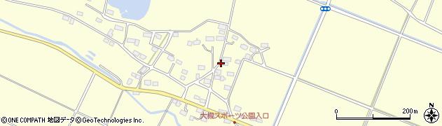 福島県郡山市大槻町(矢地内)周辺の地図