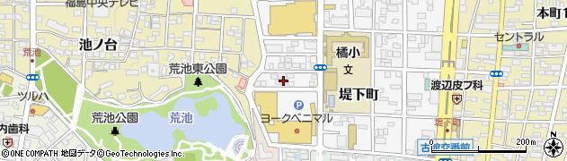 うさちゃんクリーニング堤下店周辺の地図