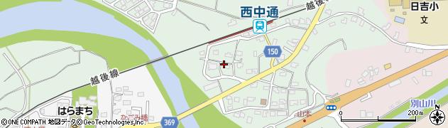 新潟県柏崎市山本周辺の地図