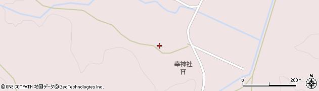 福島県郡山市湖南町赤津(新町原)周辺の地図
