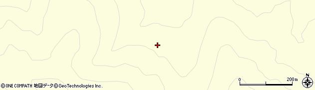 福島県郡山市湖南町中野(神代)周辺の地図