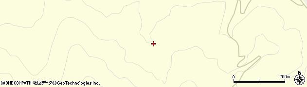 福島県郡山市湖南町中野(草倉沢)周辺の地図