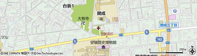 道因寺周辺の地図