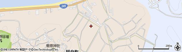 石川県輪島市稲舟町周辺の地図