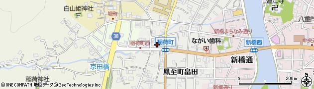 石川県輪島市鳳至町(稲荷町)周辺の地図