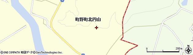石川県輪島市町野町(北円山リ)周辺の地図