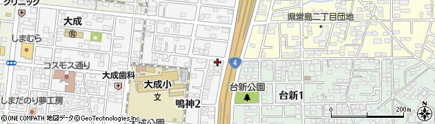 株式会社シャープドキュメント21ヨシダ 郡山支店周辺の地図